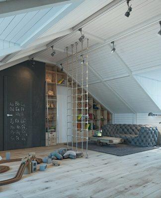 Creative bedroom design for kids