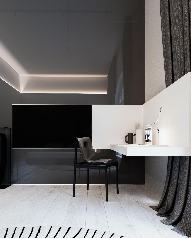 Modern interior style for stylish apartment design