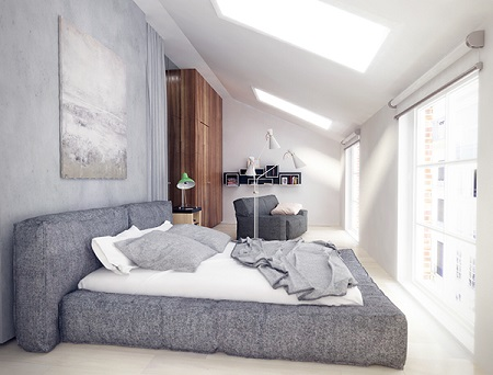Creative design for bedroom