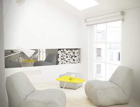 Creative design for modest apartment