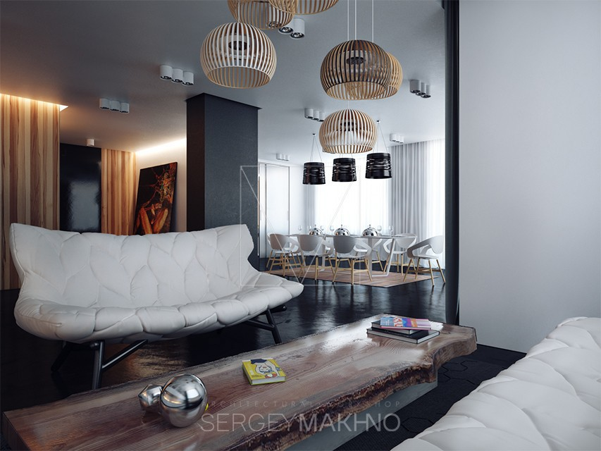 Unique living room design style