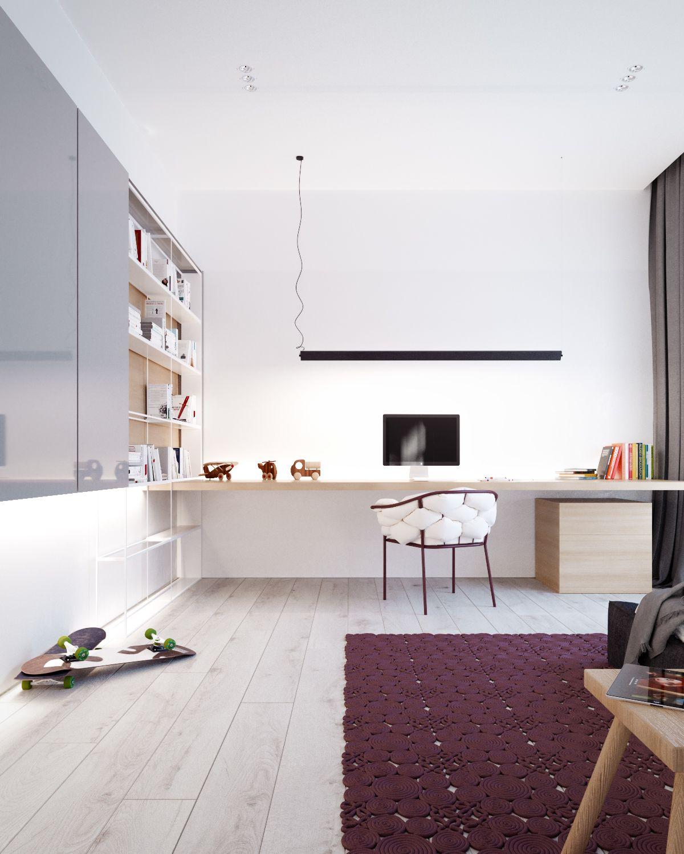 Modern stylish apartment interior design ideas