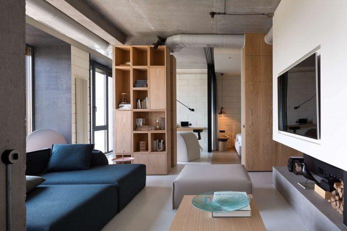 Minimalist penthouse design