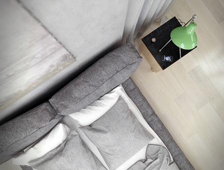 Design for modest apartment