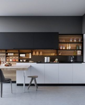 Minimalist interior and design for kitchen