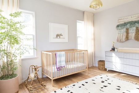 Enticing design for nursery
