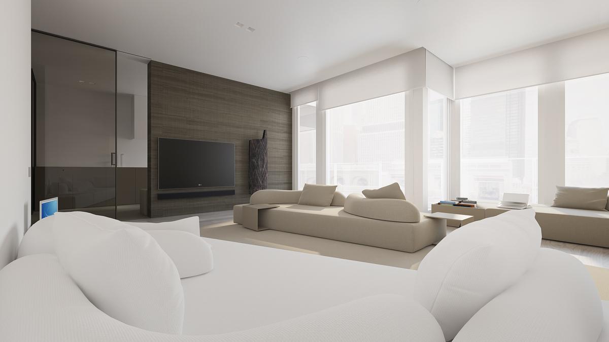 Minimalist design with gray color