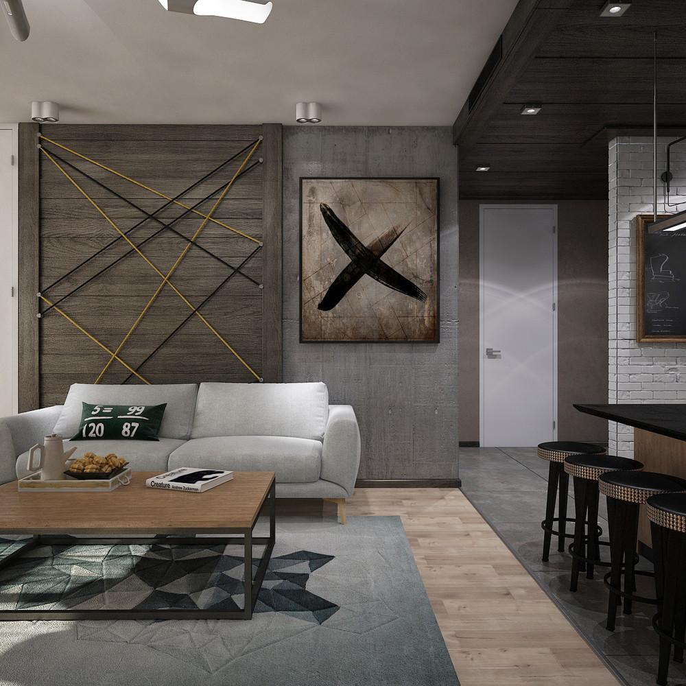 New York style apartment interior design