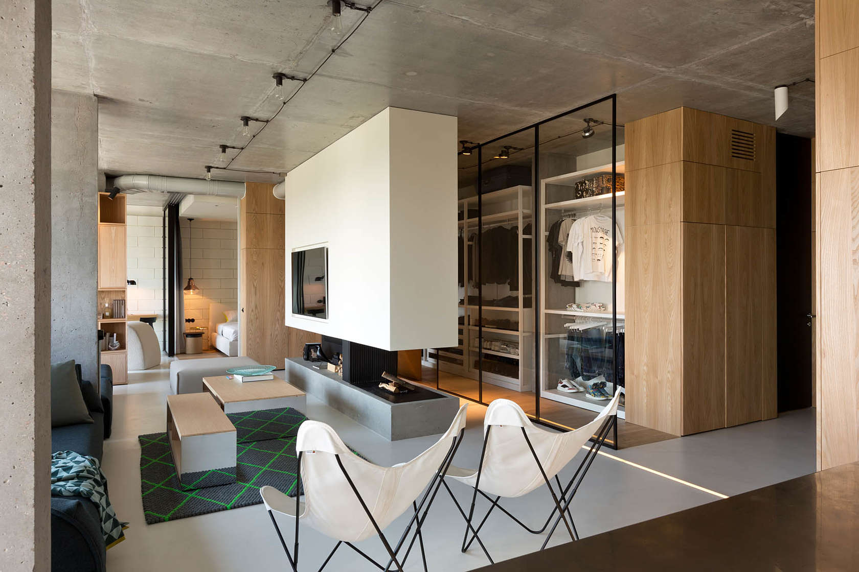 Inspiring penthouse design