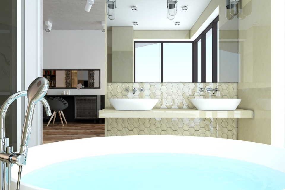 Luxury bathroom design style
