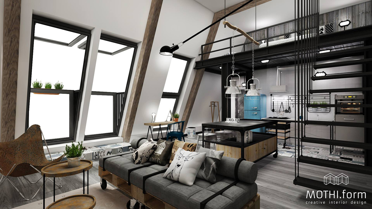 Mezzanine Bedroom Loft Awesome