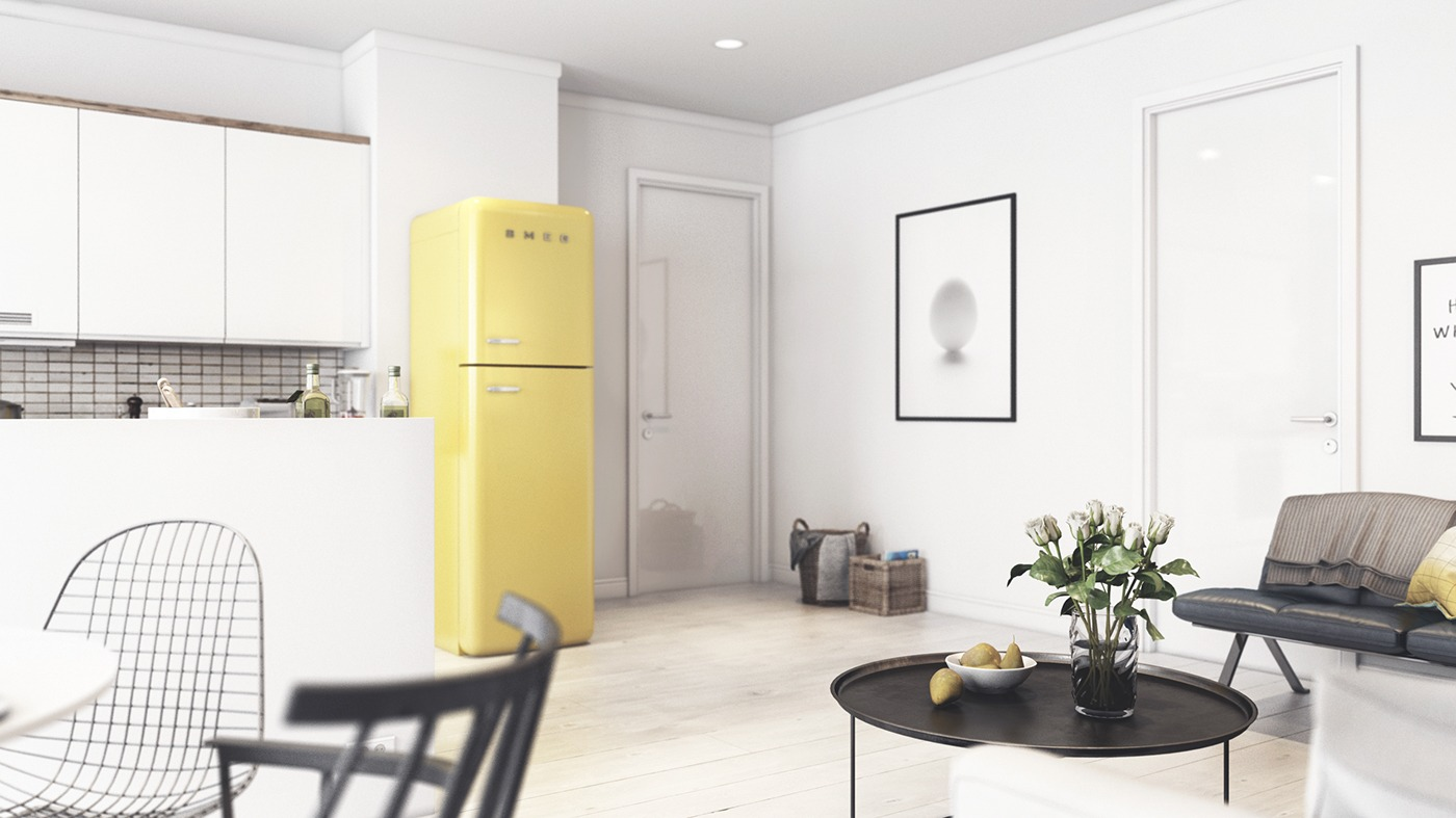 light-yellow-scandinavian-decor