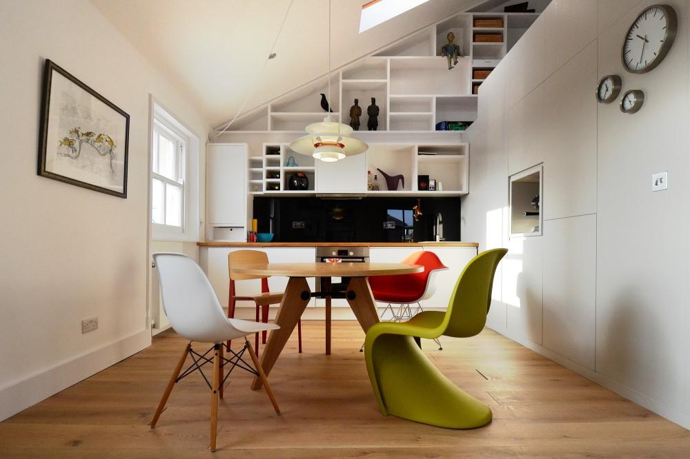 Loft dining design