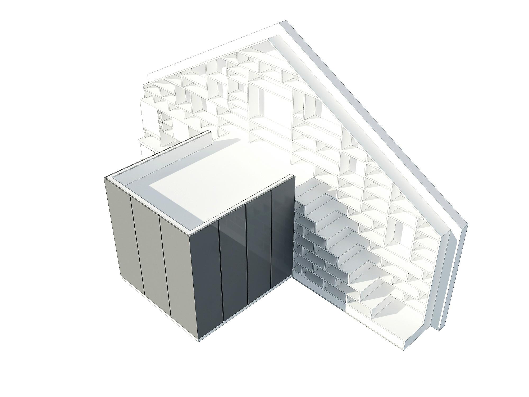 Beautiful loft design sketch