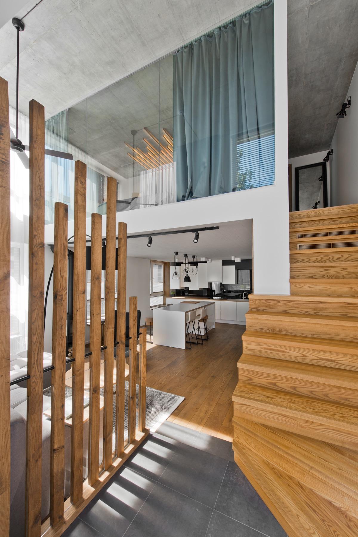 Scandinavian bedroom interior design