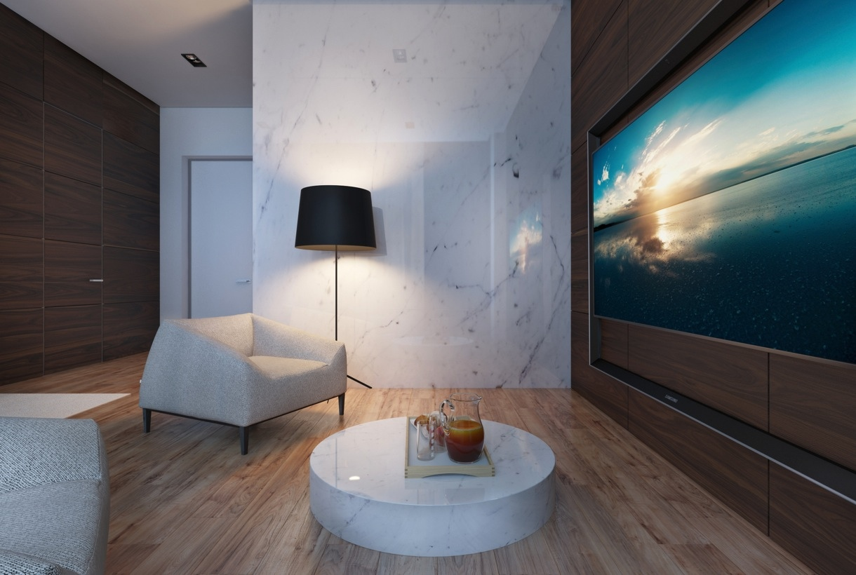 Marble wall design