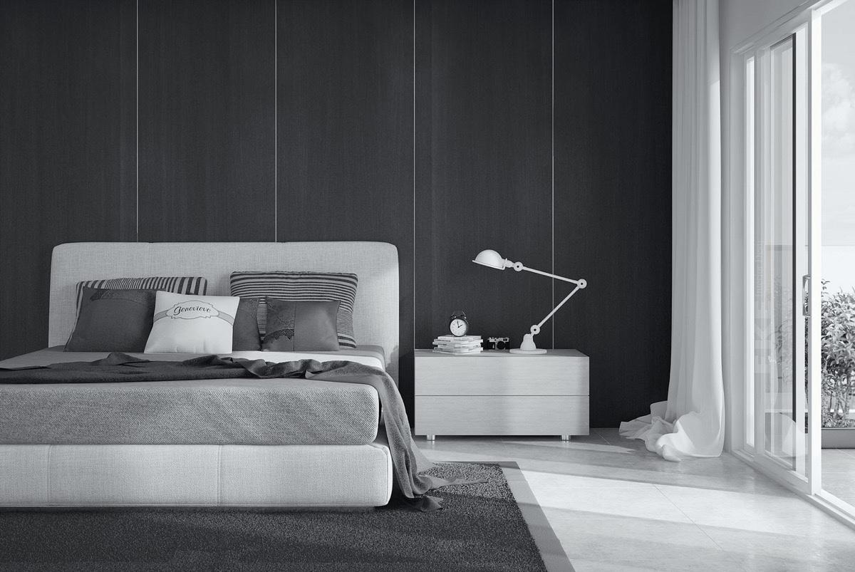Vintage bedroom design style