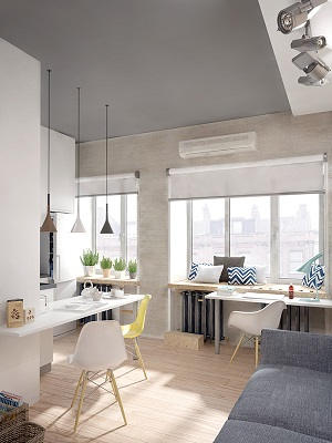 Mini loft with modern design