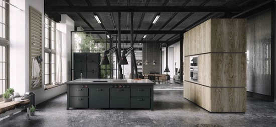 Minimalist design for kitchen