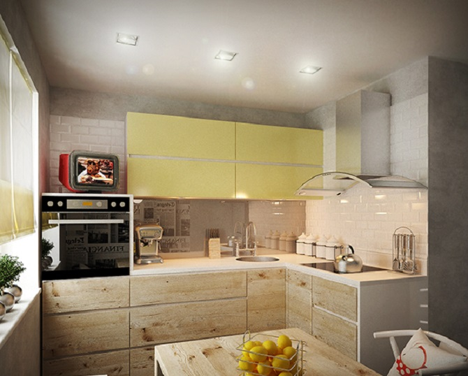 3 Minimalist Design For A Small Kitchen With Modern Appearance Roohome Designs Plans