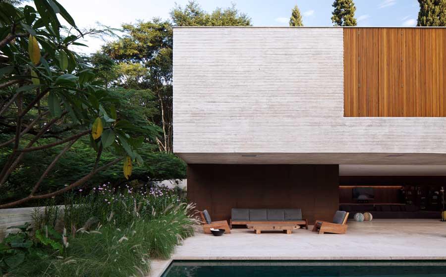 Modern wood house ideas