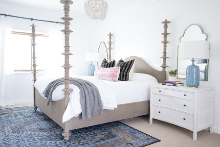 Modern Spanish colonial for bedroom
