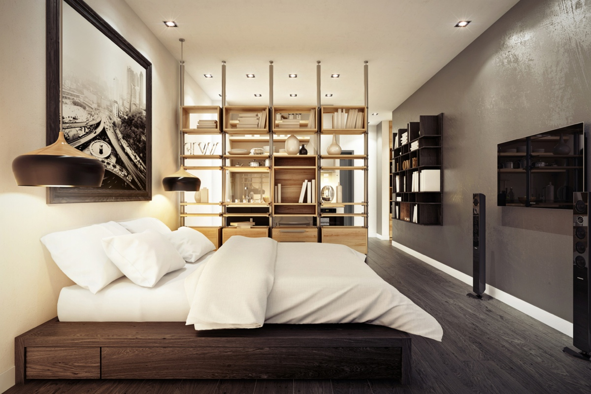 Urban bedroom design style