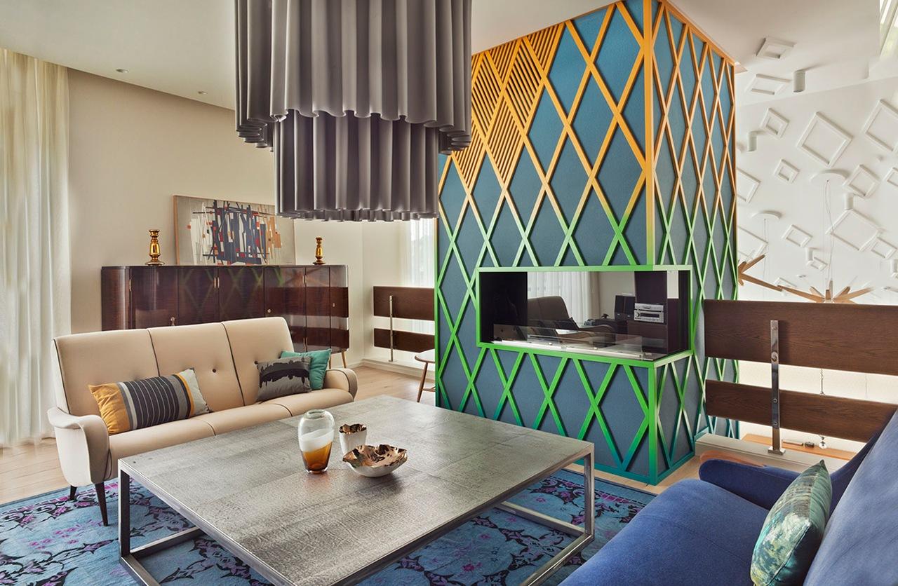 Colorful interior design and decorating ideas