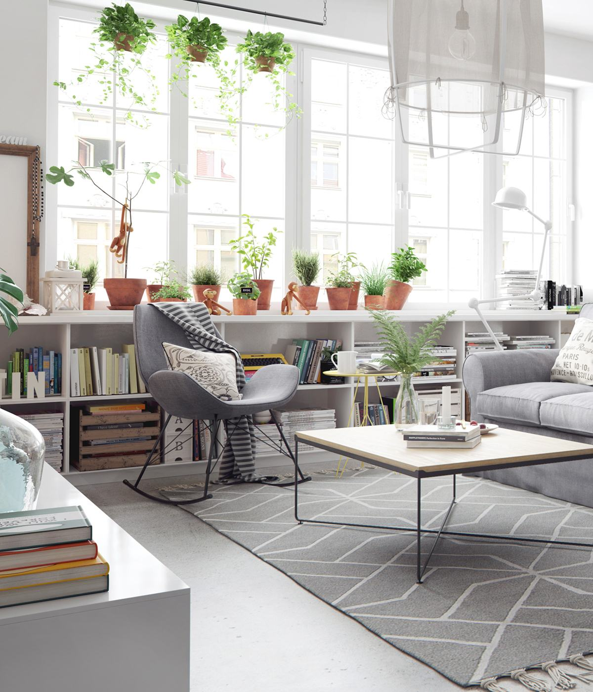 The beauty of nordic apartment interior design style for Interior design styles photos