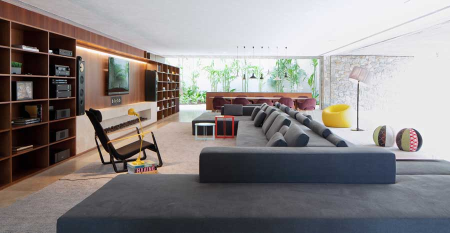 wood house interior design ideas