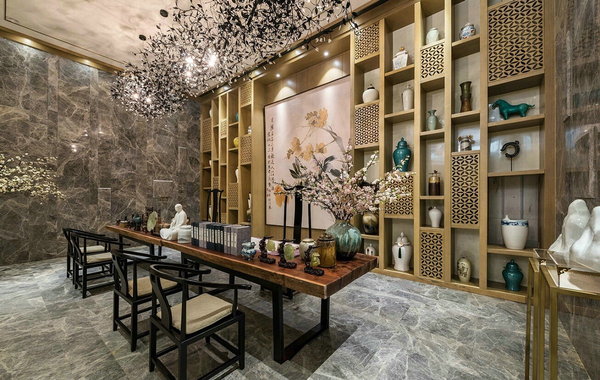 Japanese dining room design style