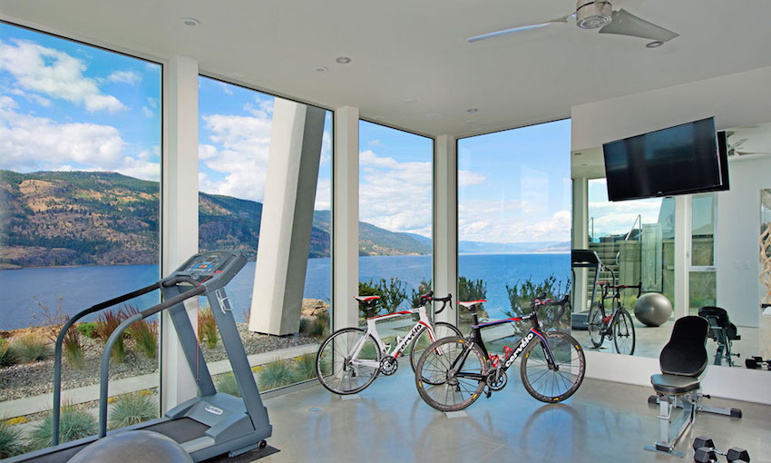 Luxurious and modern gym
