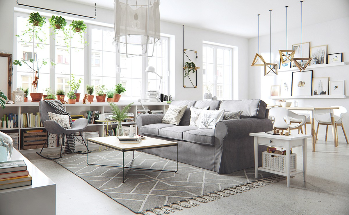 The Beauty Of Nordic Apartment Interior Design Style