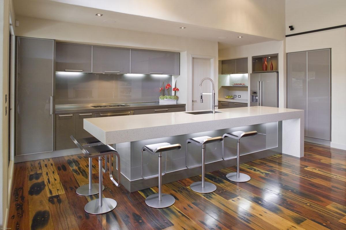 Modern white kitchen design ideas