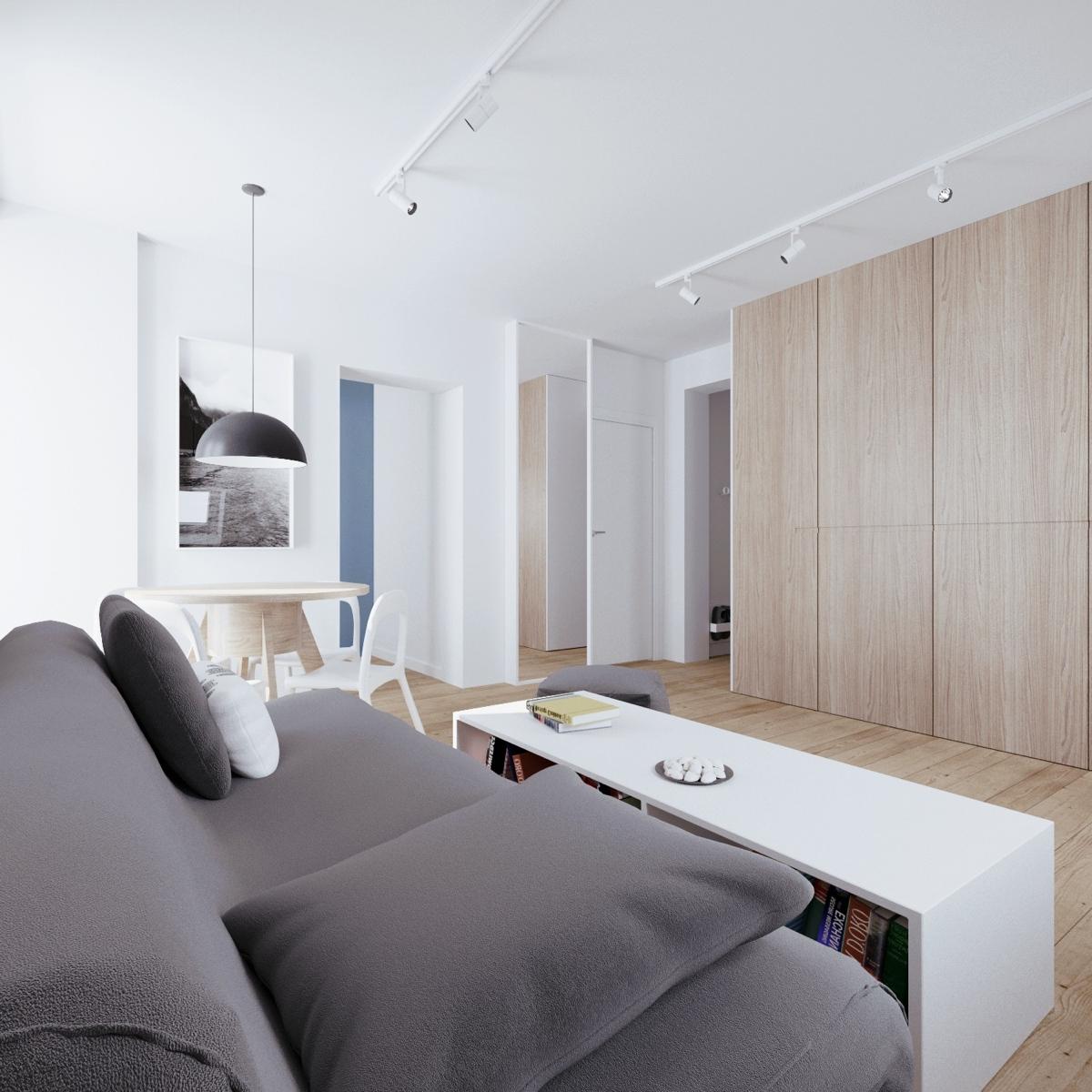 Minimalis apartment interior design ideas