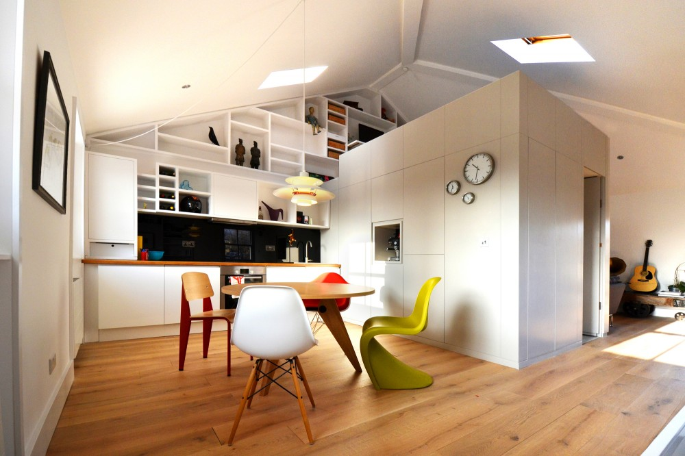 Beautiful loft kitchen design