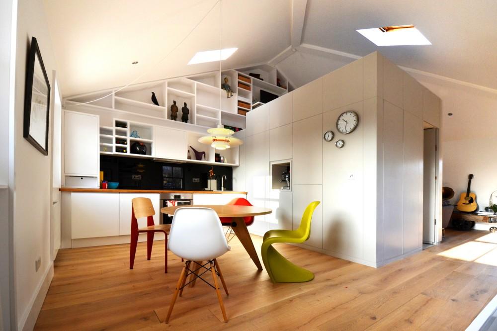 Beautiful loft kitchen design