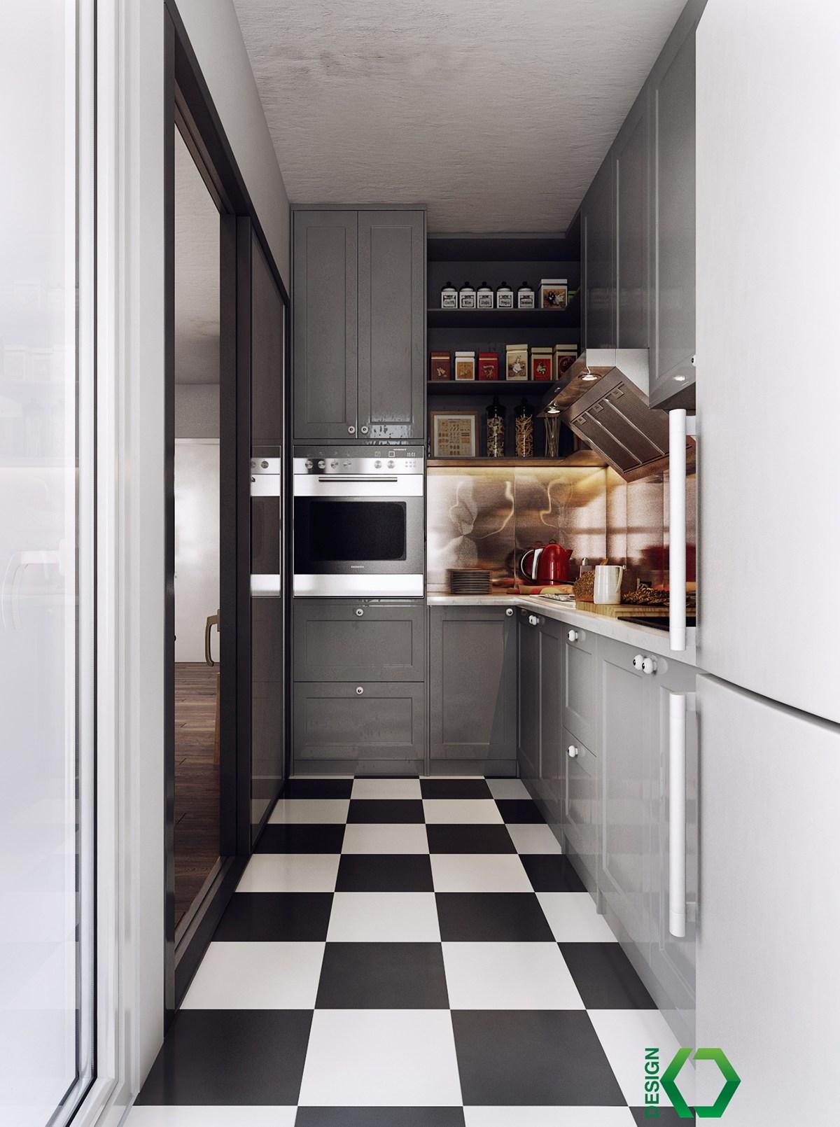 Nordic apartment style
