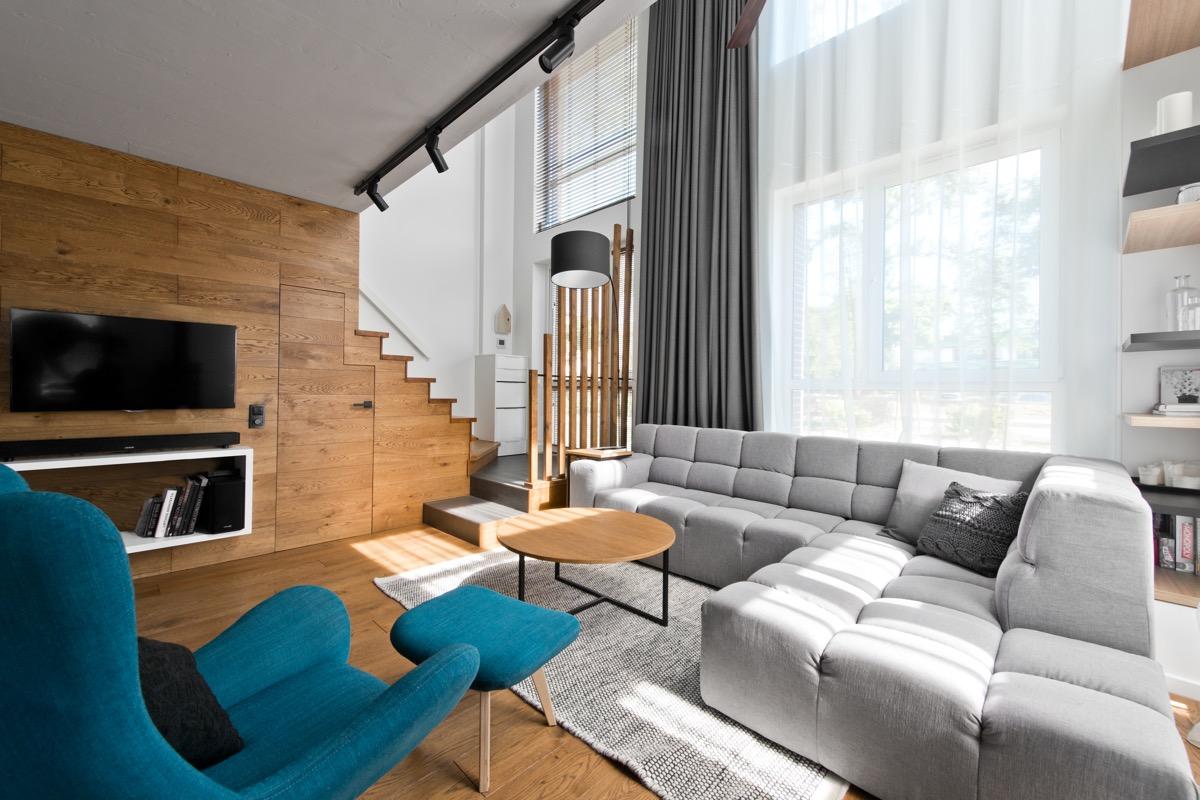 Scandinavian Loft Apartment Interior Design With Perfect Floor Plan