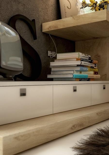 Three creative workspaces design