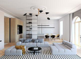 Traditional home interior