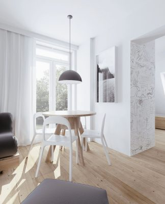 Minimalist apartment interior design ideas