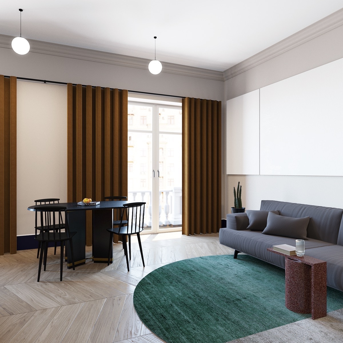 Unique Kitchen Storage Ideas Small Space Furniture: 600 Square Feet Apartment Design With Wonderful Maximalist