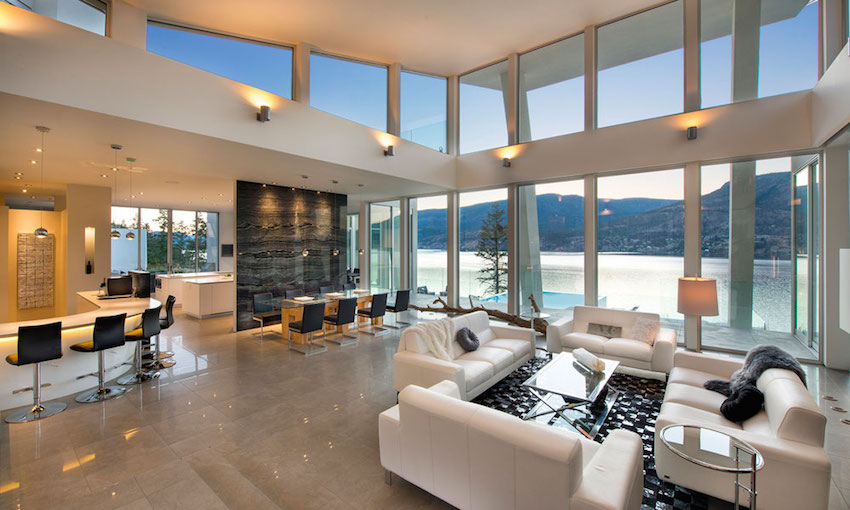 Luxurious and Modern Lake House Design With Perfect Layout ...