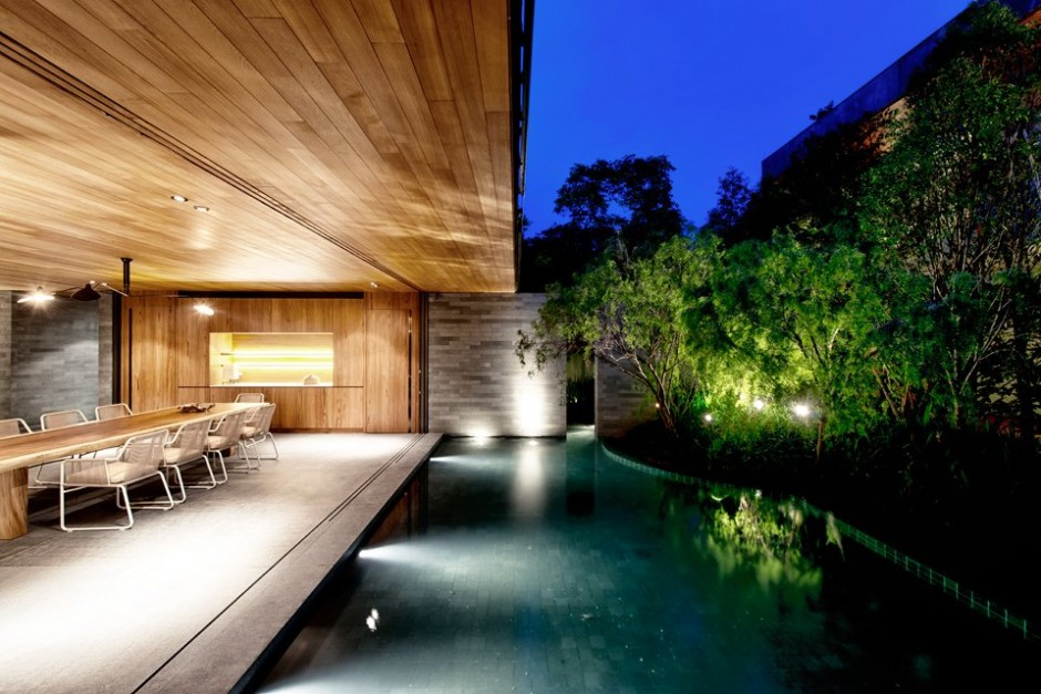 House design with beautiful view