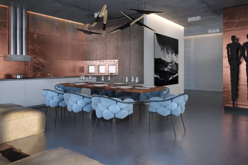Whimsical Interior Design whimsical apartment interior design stylessergey makhno