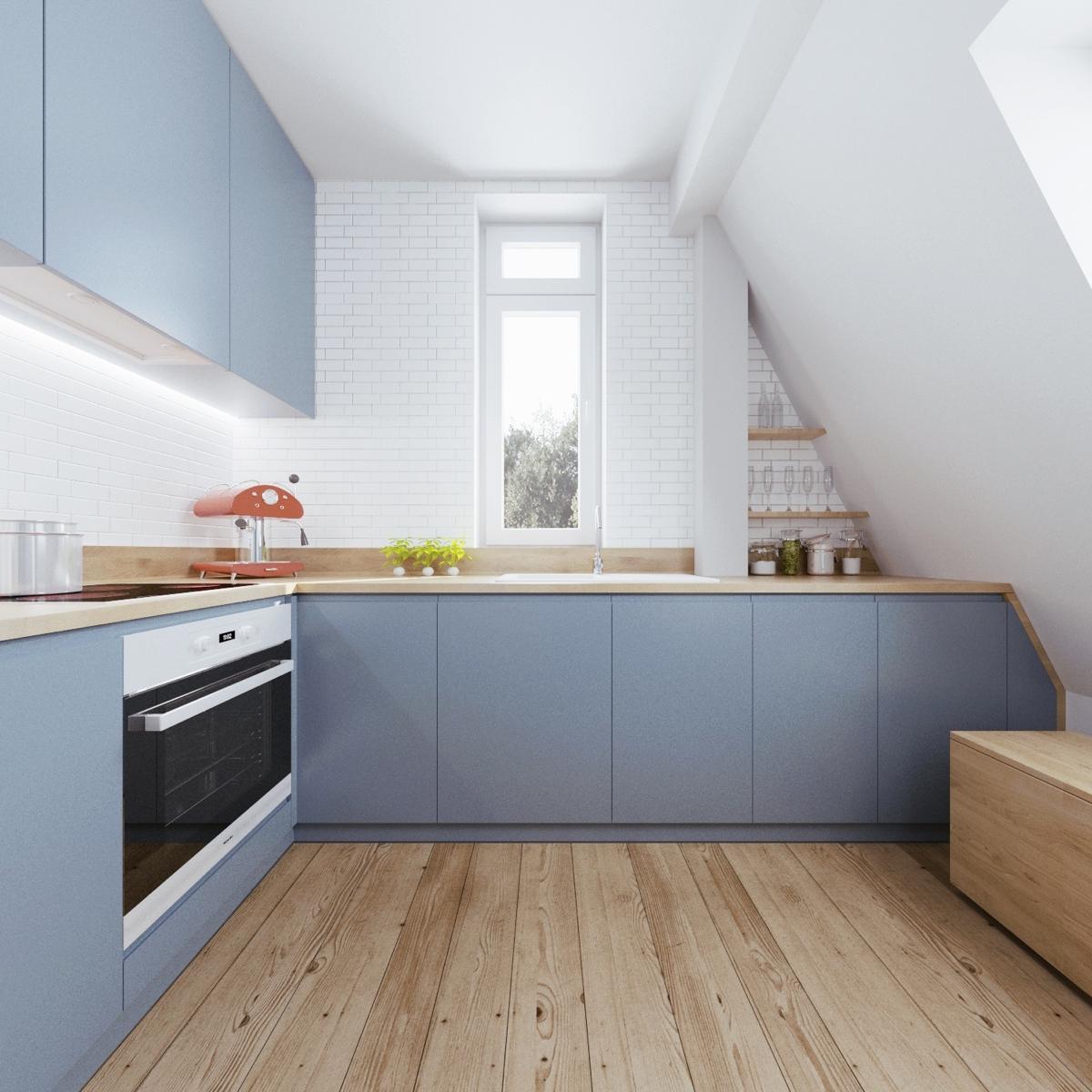 Minimalist Apartment Design With Soft Color Scheme Roohome Designs Plans