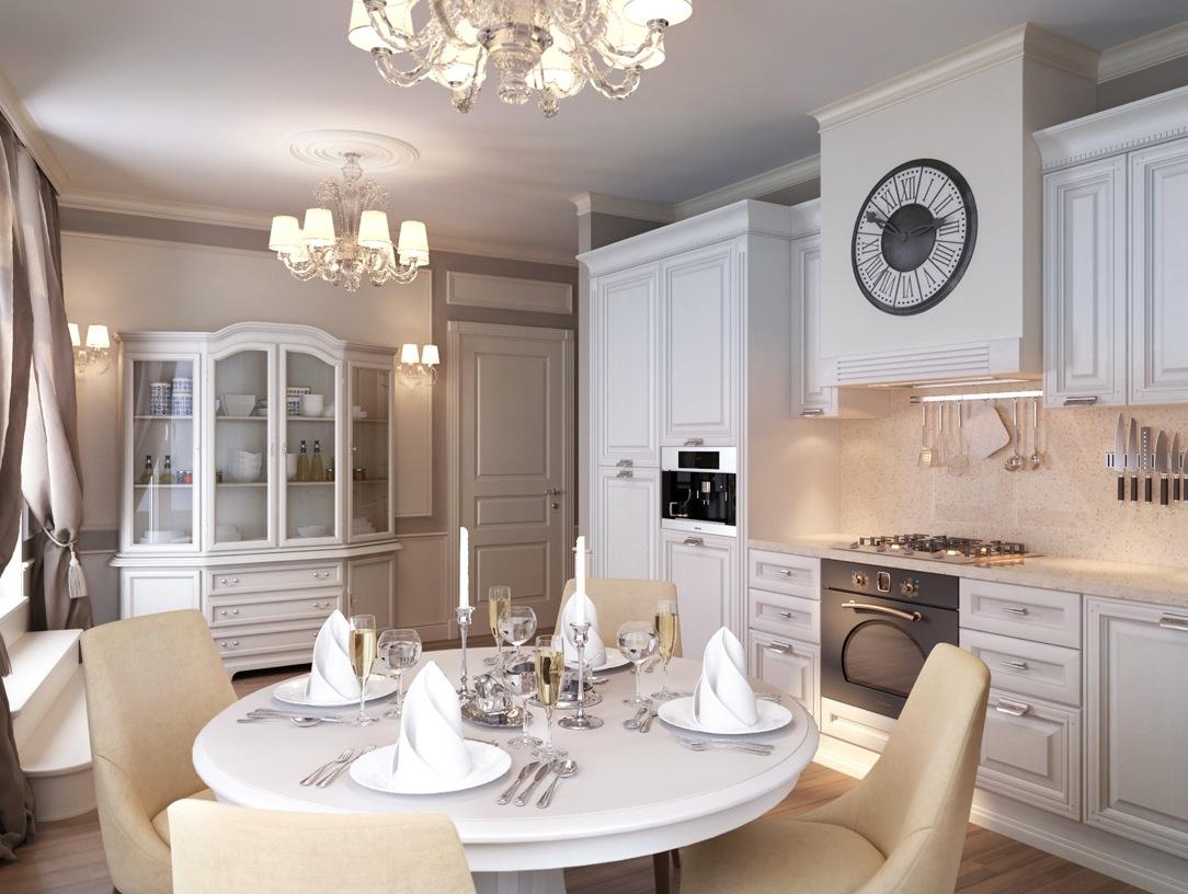 Modern classic apartment interior design ideas