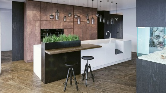 Wood materials for kitchen