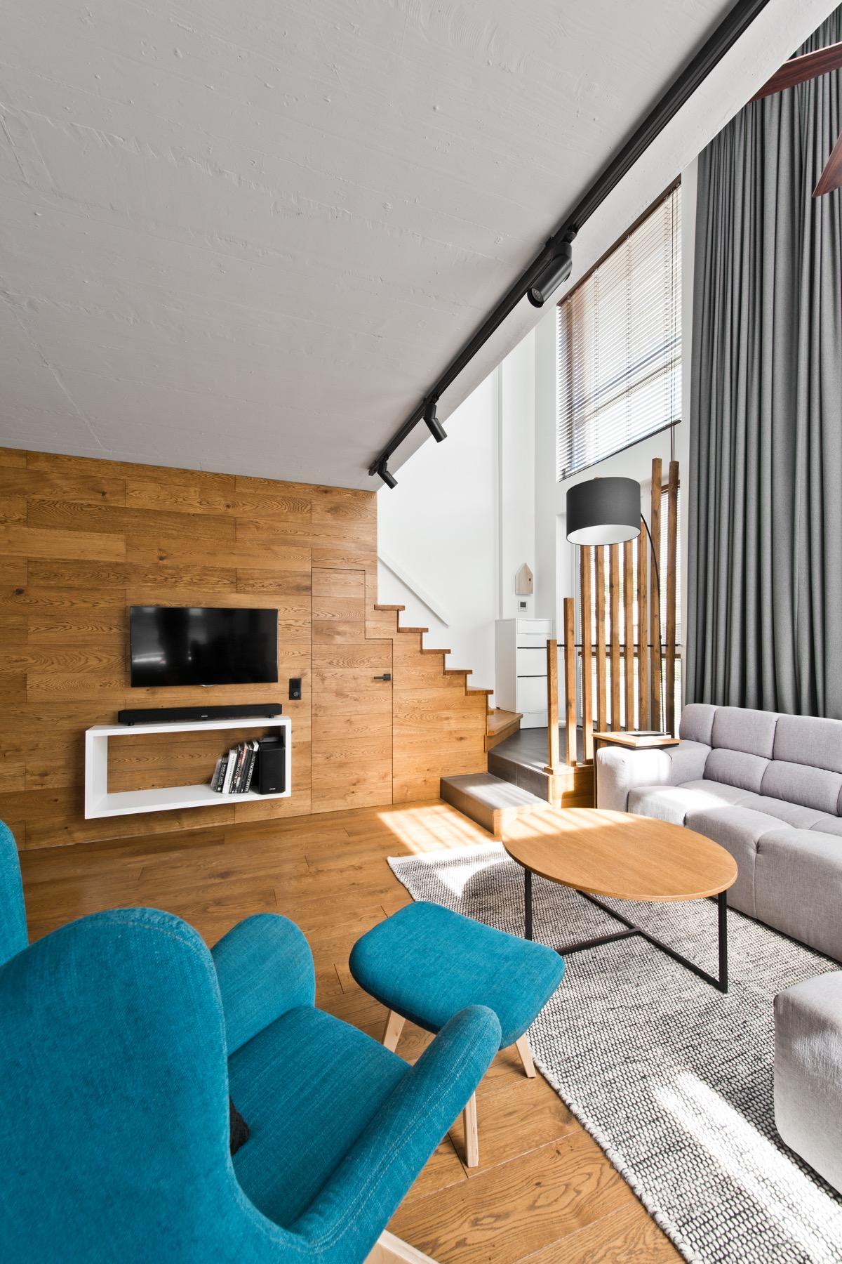 Scandinavian loft apartment design